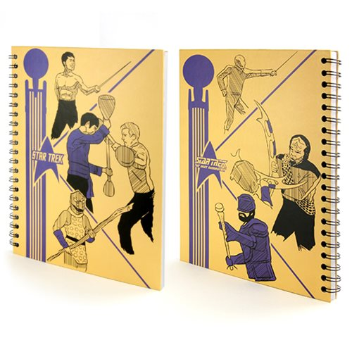 Star Trek School Folder Hardcover Notebook