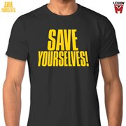 Save Yourselves! Title T-Shirt