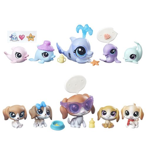 Littlest Pet Shop Surprise Families Mini Pets Wave 3 Set