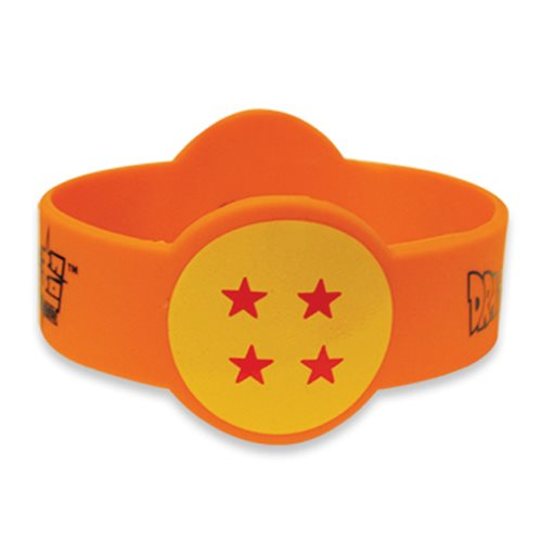 Dragon Ball Super 4 Star Pvc Wristband Bracelet