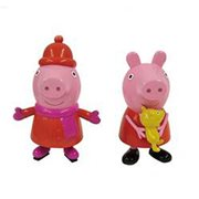 Peppa Pig Blow Mold Ornament Set