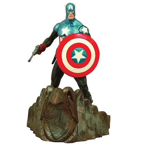 Marvel Select Captain America (Masked) Action Figure, Not Mint