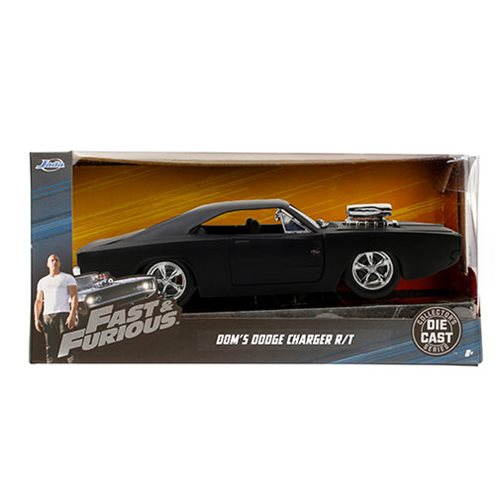Fast and the Furious 1970 Dodge Charger R/T 1:24 Scale Die-Cast Metal Vehicle