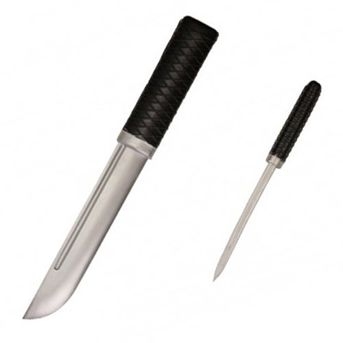 Hero's Edge Silver Rubber Dagger