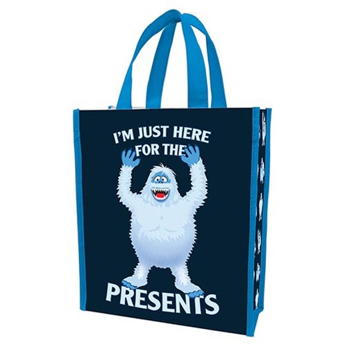 Rudolph Bumble Here for the Presents Small Recycled Shopper Tote
