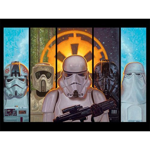 Star Wars Disciples of the Empire by Jaime Carrillo Lithograph Art Print