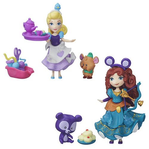 Disney Princess Small Dolls with Friends Wave 1 Set
