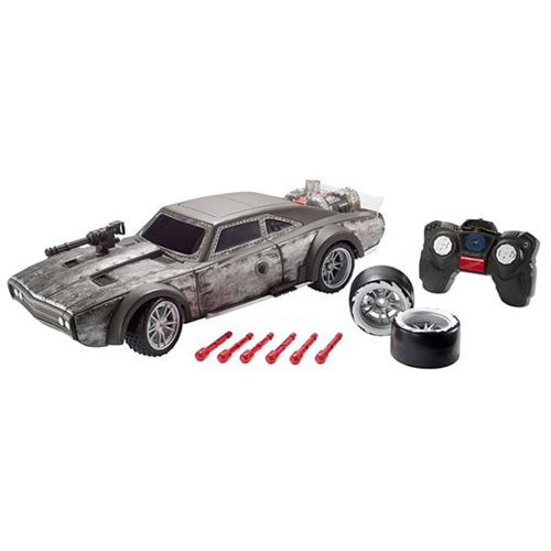 Fast and Furious Blast and Burn Ice Charger RC Car