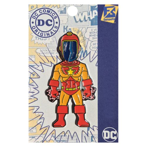Legion of Super Heroes Wildfire Pin