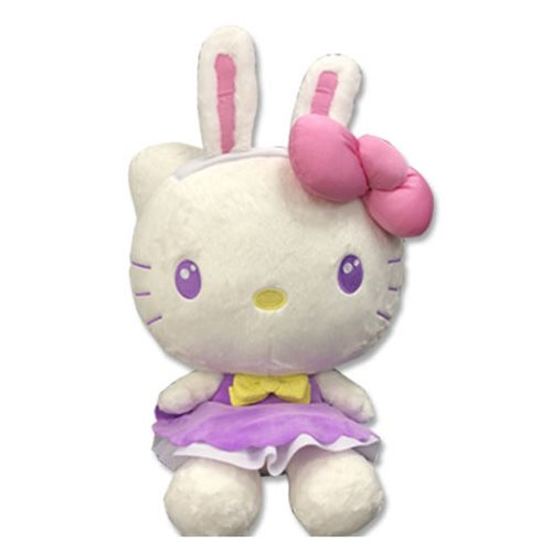 Hello Kitty Easter Kitty Purple Dress 15-Inch Plush