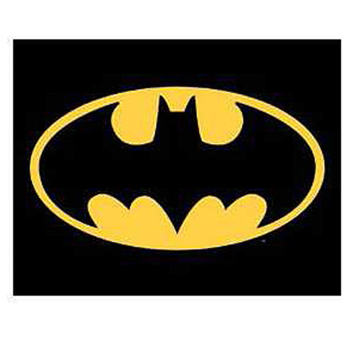 Batman Logo DC Comics Tin Sign