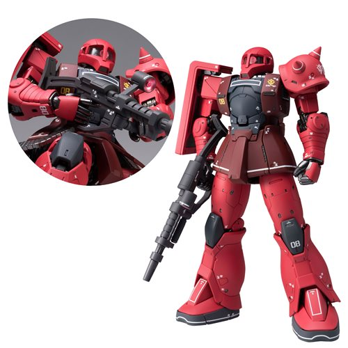 Mobile Suit Gundam: The Origin MS-05S Char Aznable's Zaku Gundam Fix Figuration Metal Composite Action Figure