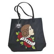 Star Wars Princess Leia Tattoo Tote Purse