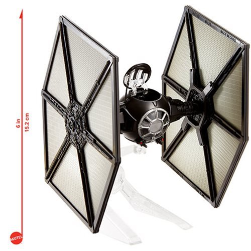 Star Wars: The Force Awakens First Order TIE Fighter Hot Wheels Elite Die-Cast Metal Vehicle