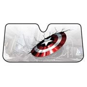 Captain America Shield Accordion Bubble Sunshade
