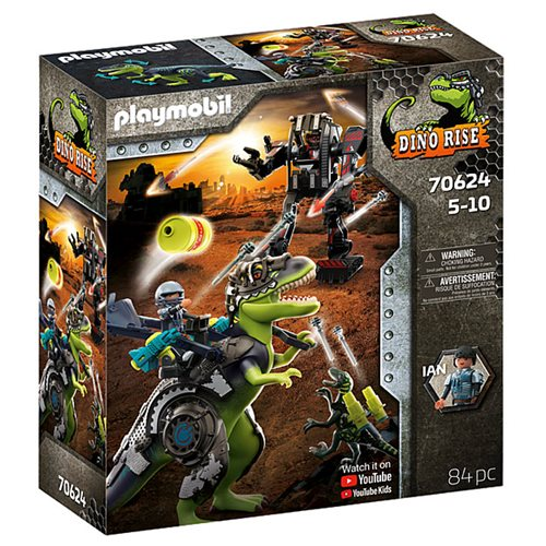 Playmobil 70624 Dino Rise T-Rex: Battle of the Giants
