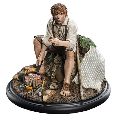 The Lord Of The Rings Samwise Gamgee Mini Statue Entertainment Earth