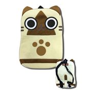 Monster Hunter Airou Plush Bag