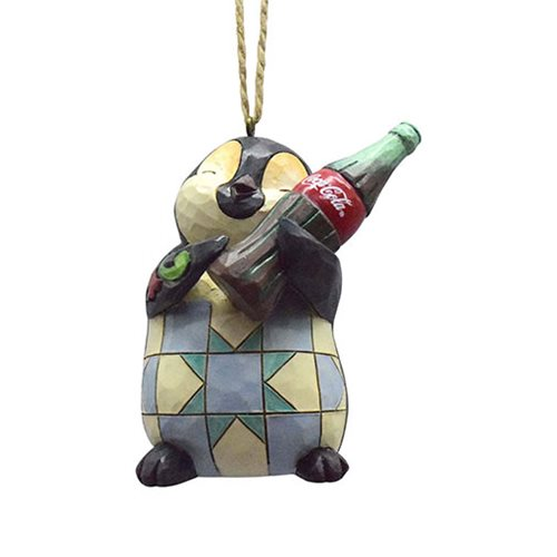 Coca-Cola Penguin with Coke Bottle Ornament by Jim Shore