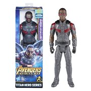 Avengers: Infinity War Titan Hero Series Marvel's Falcon with Titan Hero Power FX Port 12-Inch Action Figure