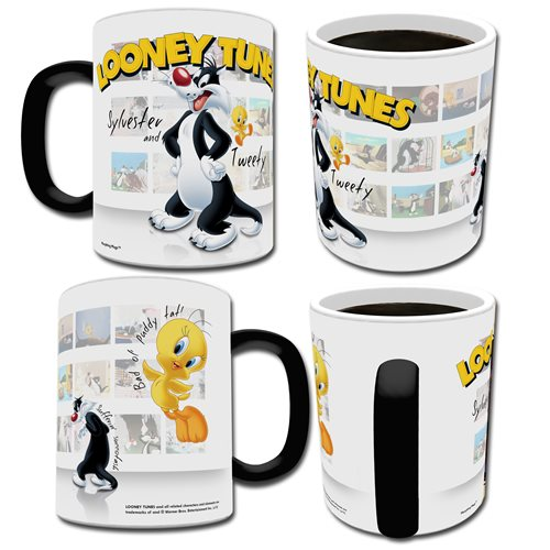 Looney Tunes Sylvester and Tweety Morphing Mug