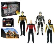 The Big Bang Theory / Star Trek: The Next Generation 3 3/4-Inch Figures Set - Convention Exclusive, Not Mint