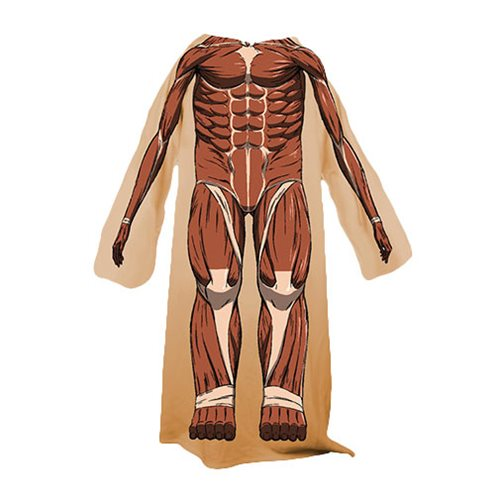 Attack on Titan Colossus Titan Snuggler Blanket
