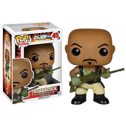 G.I. Joe Roadblock Pop! Vinyl Figure, Not Mint