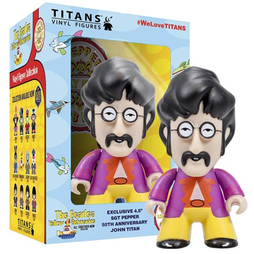 The Beatles Sgt. Pepper's John in Disguise 4 1/2-Inch Titans Vinyl Figure