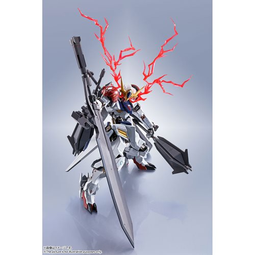 Mobile Suit Gundam Iron-Blooded Orphans Side MS Gundam Barbatos Lupus The Robot Spirits Action Figur
