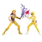 Power Rangers Lightning Collection Mighty Morphin Yellow Ranger Aisha vs. Scorpina 6-Inch Action Figures