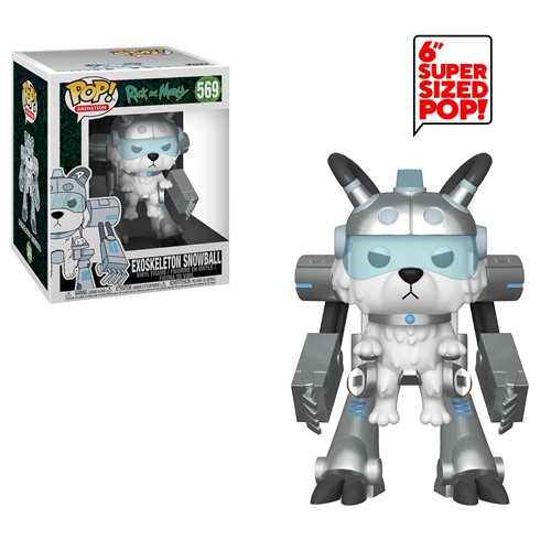 Rick and Morty Exoskeleton Snowball 6-Inch Pop! Vinyl Figure