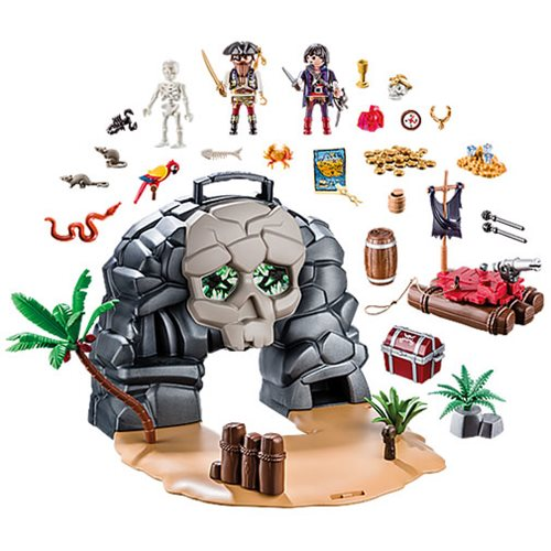 Playmobil 70113 Take Along Pirate Skull Island