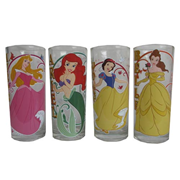 Disney Princesses Glitter 10 oz. Tumbler 4-Pack