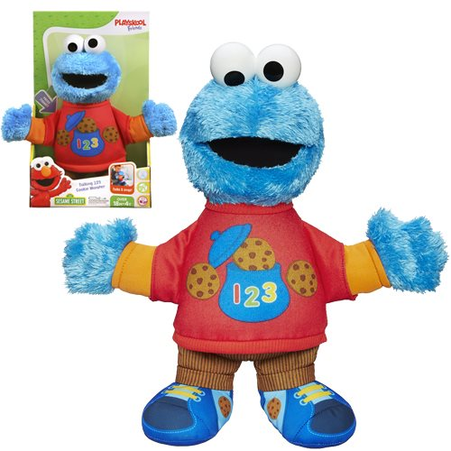 Sesame Street Playskool Friends Talking 123 Plush Cookie Monster
