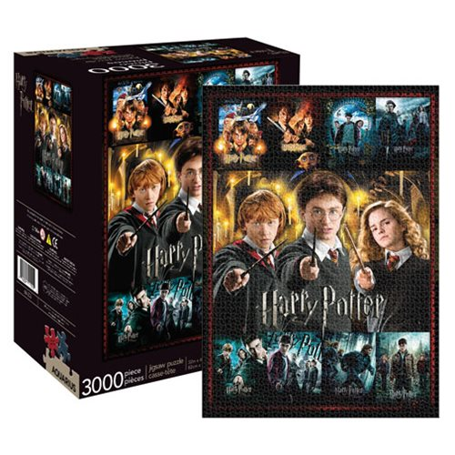 Harry Potter Movie Collection 3,000-Piece Puzzle