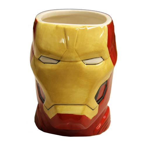 Iron Man Helmet 16 oz. Molded Mug