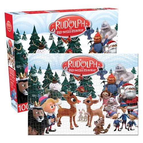Rudolph The Red-Nosed Reindeer 1,000-Piece Puzzle