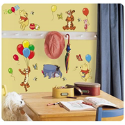 Winnie the Pooh and Friends Peel and Stick Wall Applique