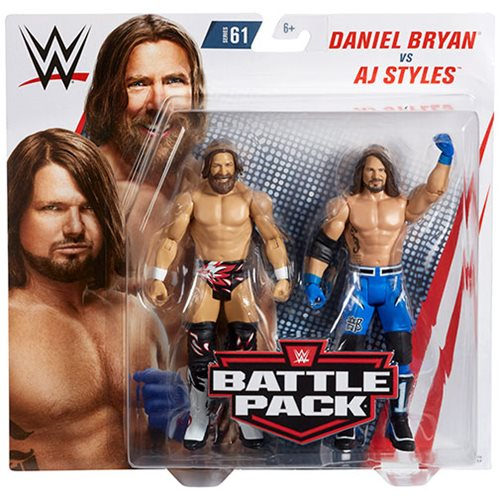 WWE Basic Series 61 Action Figure 2-Pack Case