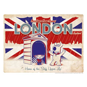 Family Guy Road to London Lithograph Print