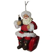 Coca-Cola Santa On Cooler 4-Inch Ornament