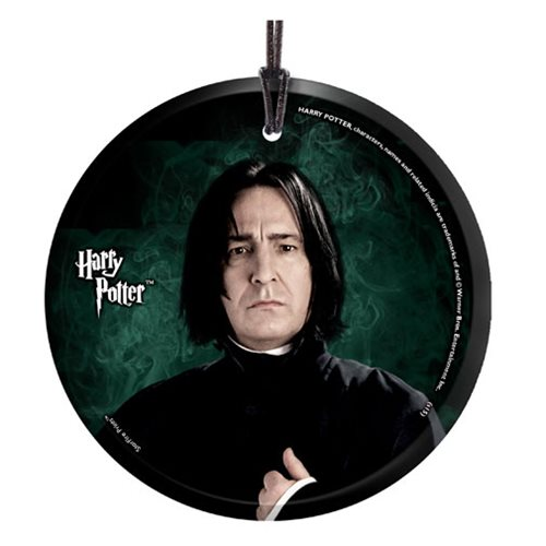 Harry Potter Snape StarFire Prints Hanging Glass Ornament