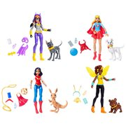 DC Super Hero Girls Action Figure with Pet Case