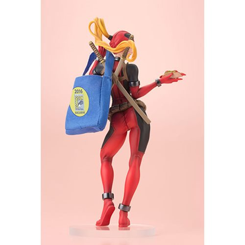 Deadpool Lady Deadpool Variant Bishoujo Statue - 2016 SDCC Exclusive