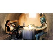 Star Wars The Gunslinger by Brian Rood Canvas Giclee Art Print