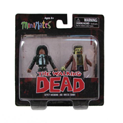 The Walking Dead Minimates Michonne and Winter Zombie 2-Pack