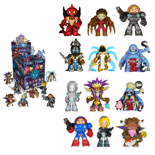 Heroes of the Storm Mystery Minis Mini-Figure Random 4-Pack