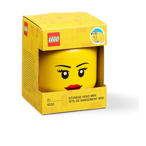 LEGO Girl Mini Storage Head
