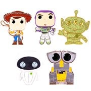 Pixar Large Enamel Pop! Pin - 1 Random Pin